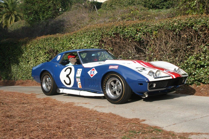 # 3 - 1968 IMSA,  Irwin Kroiz ex Dave Morgan & Hap Sharp Sunray DX at Amelia Island 2015 01