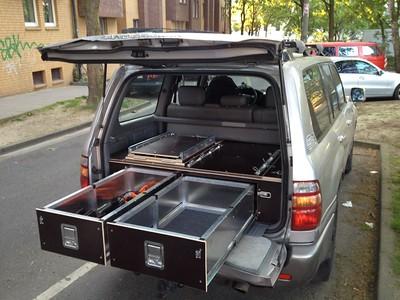 European DYI drawers, phenolic plywood build, very nice