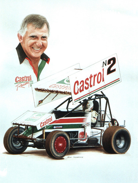 Garry Rush. 10 times Australian Sprint Car Champion
