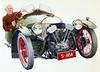 Classic 3 wheeler Morgan