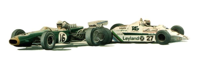 World Champions Brabham, Jones