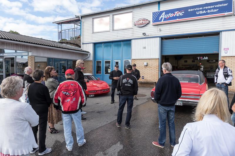 CCS Höstutflykt till AutoTec i Västerås 2016