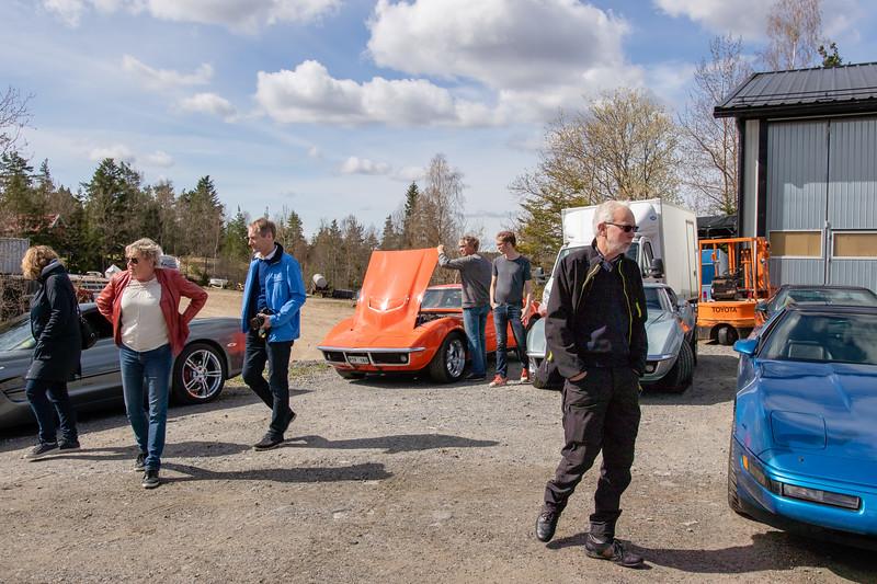 Ullmark`s Restoration, Svempas garage Lördag 28 April 2018
