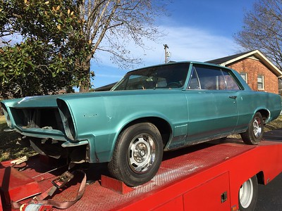 1965 Pontiac LeMans (Nashville, Tennessee to College Grove, Tennessee)
