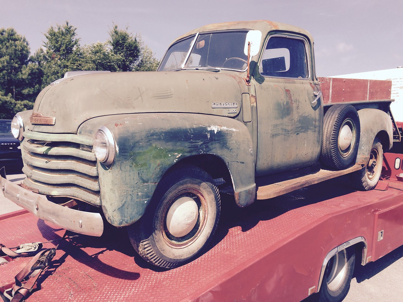 1948 Chevrolet 3100 farm truck fresh out of Iowa cornfield (Clarksville, Tennessee to White Bluff, Tennessee)