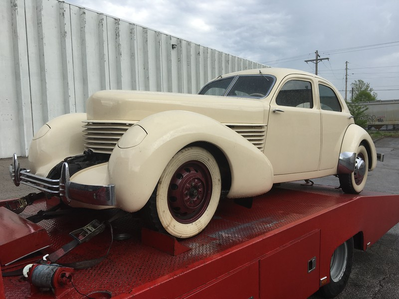 1936 Cord (St. Louis, Mo. to Nashville, Tennessee)