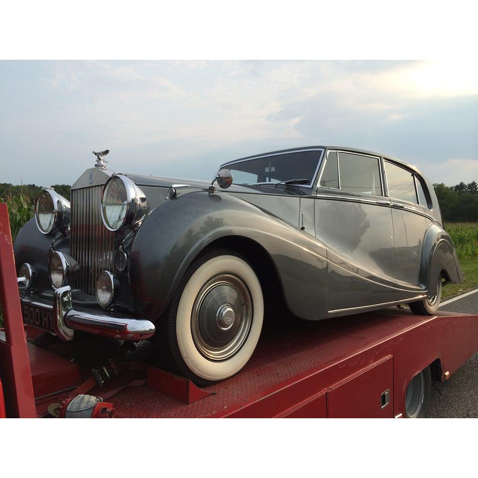 1950  Rolls  Royce (Roselle, Illinois to Lebanon, Tennessee )