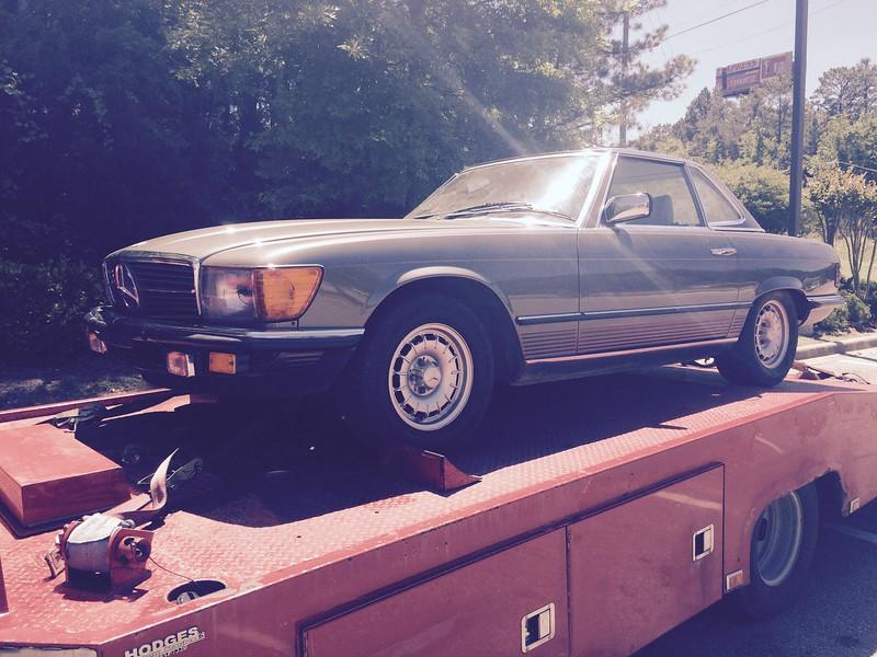 1985 Mercedes Benz 380SL (Shelbyville, Kentucky to Nashville, Tennessee)