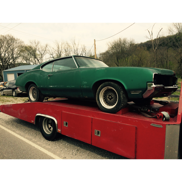 1970  Oldsmobile Cutlass  (Gordonsville, Tennessee to Mount Vernon, Kentucky)