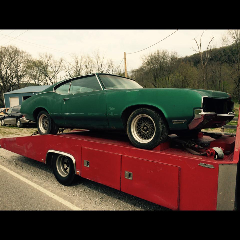 1970  Oldsmobile Cutlass  (Gordonsville, Tennessee to Mount Vernon, Kentucky)