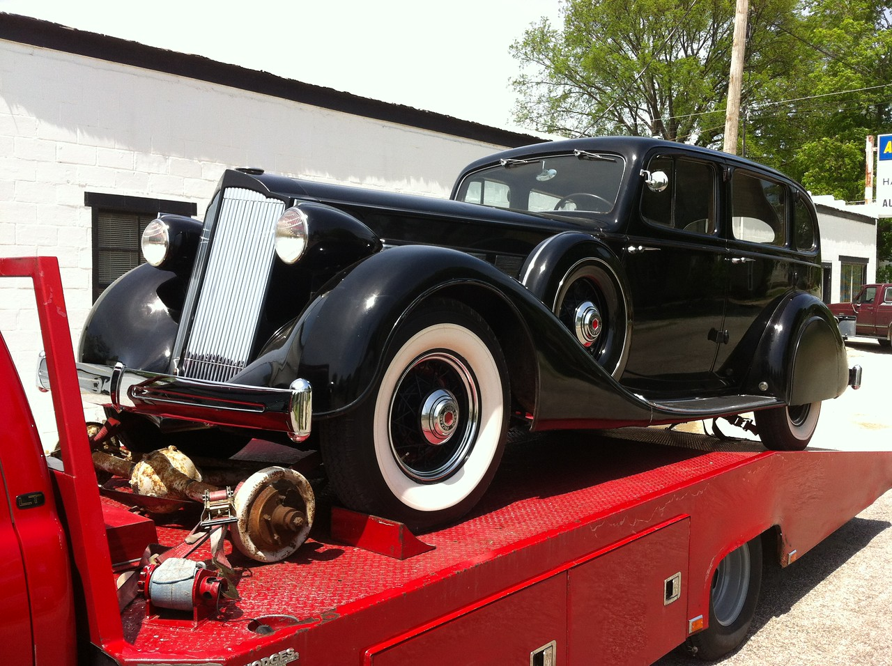 1936 Packard Fastback Touring Sedan (New Harmony, Indiana to Westmoreland, Tennessee)