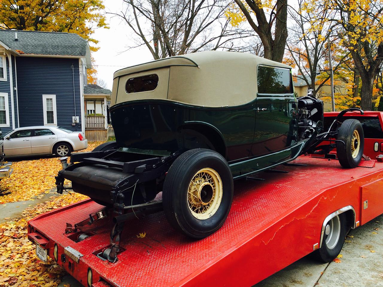1934 Packard Super Eight Convertible Victoria by Dietrich (Homer, Michigan to Nashville, Tennessee)
