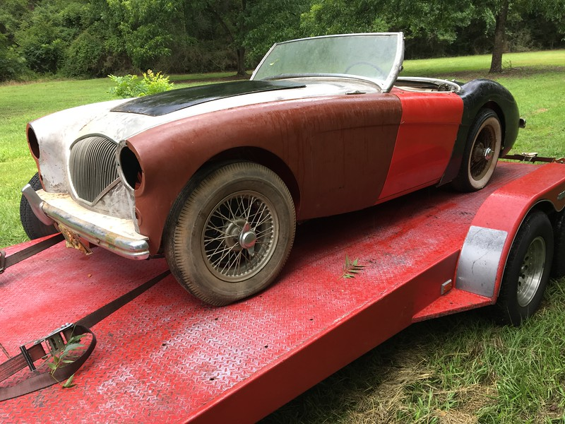 1954 Austin Healey 100/4 (Gantt, Alabama to Nashville, Tennessee)