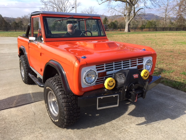 1972 Ford Bronco (Nashville, Tennessee to College Grove, Tennessee)