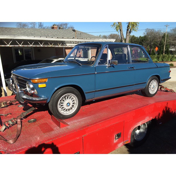 1972 BMW 2002 (Gllatin, Tennessee to Grandfather Golf and Country Club, North Carolina)