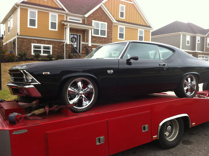 1969 Chevrolet SS 396 Chevelle (Ooltewah, Tennessee to Nashville, Tennessee)
