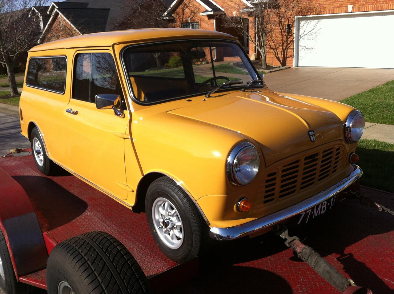 1979 Austin Mini Wagon (Boonville, Indiana to Nashville, Tennessee)