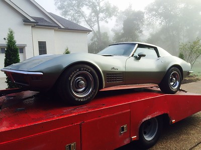 1972 Chevrolet Corvette - one owner 59,000 mile 4 speed 350hp