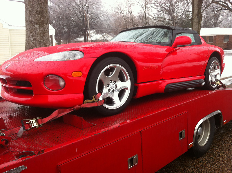 1994 Dodge Viper convertible (Millington, Tennessee to Nashville, Tennessee)