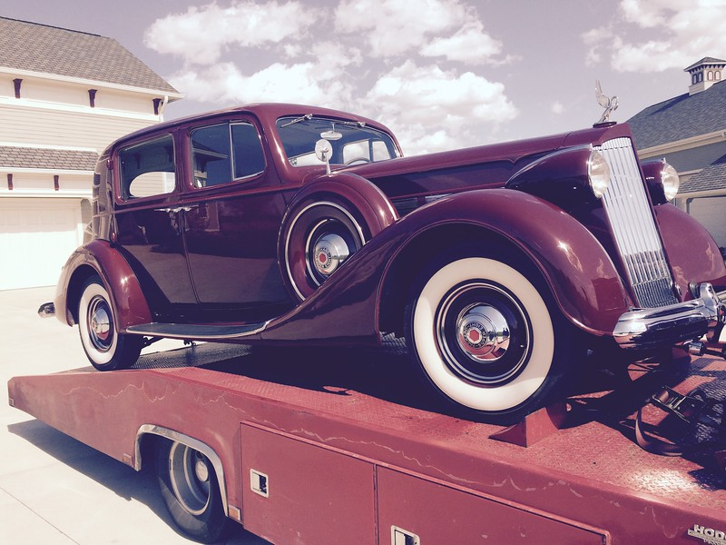 1937 Packard Super Eight Club Sedan (Greensburg, Indiana to Brentwood, Tennessee)