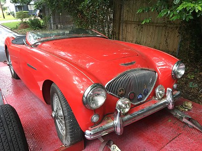 1954 Austin Healey (Montgomery, Alabama to Nashville, Tennessee)