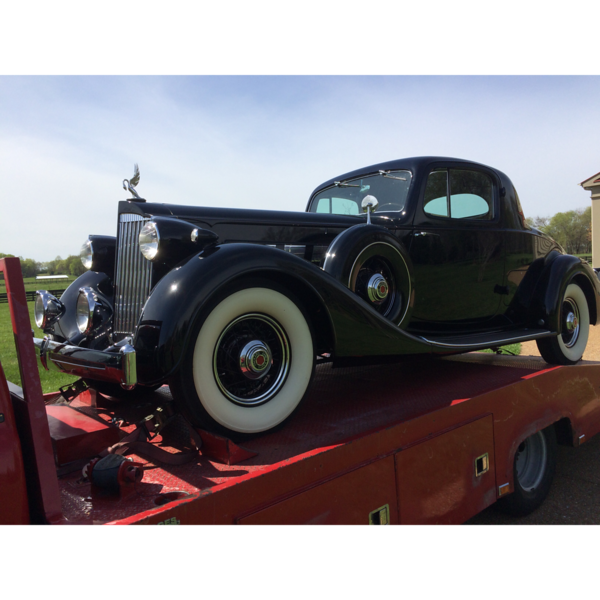 1935  Packard Super Eight  Sport Coupe (Franklin, Tennessee to Nashville, Tennessee)