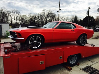 1971 Ford Mustang (Nashville local)