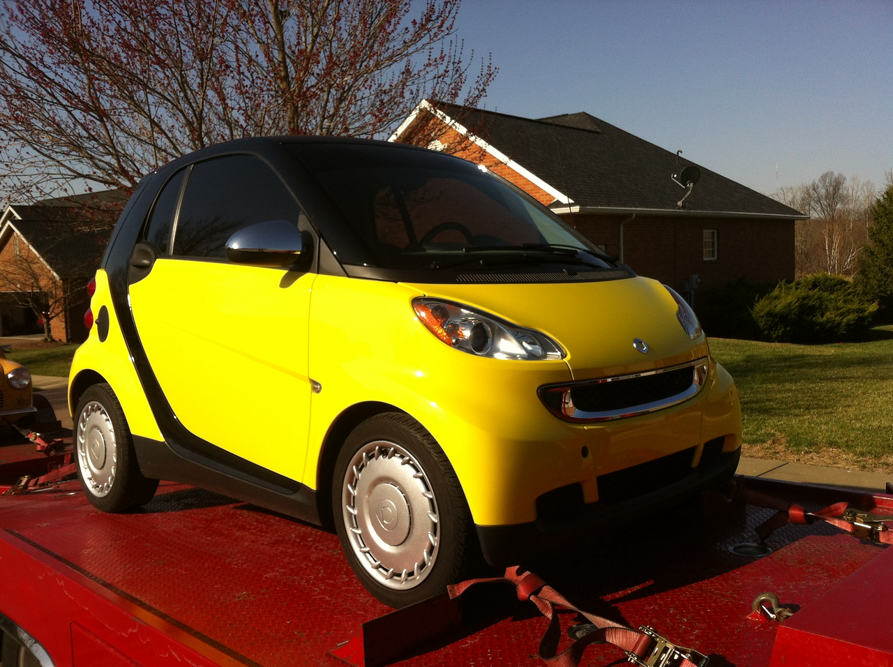 2012 Smart Car (Boonville, Indiana to Nashville, Tennessee)