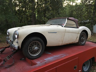 1956 Austin Healey 100/4 (Gantt, Ala. to Nashville, Tennessee)