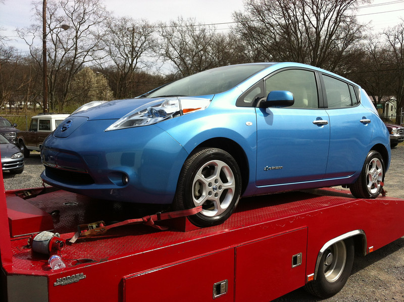 2012 Nissan Leaf (Nashville, Tennessee to Boonville, Indiana)