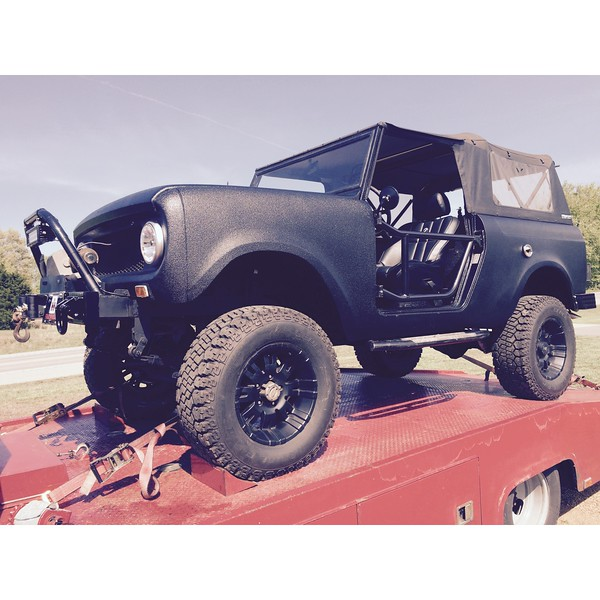 1966 International Scout (White Bluff, Tennessee to Brentwood,Tennessee)