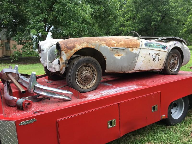 1954 Austin Healey 100/4 (Gantt, Alabama to Nashville, Tennessee)