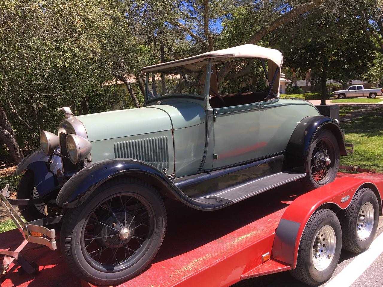 1928 Ford Midel A AR (Destin, Florida to Bradenton, Florida)