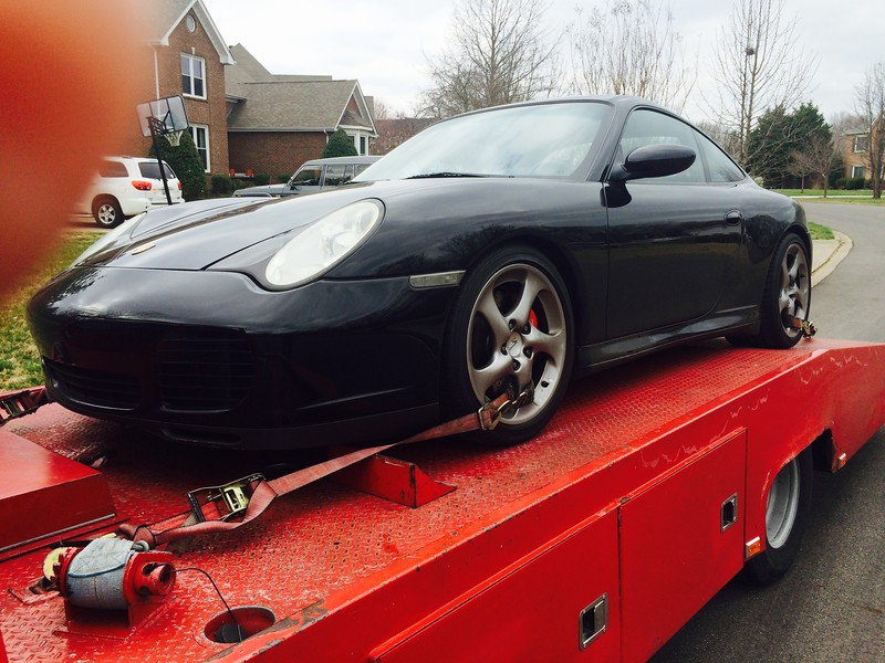2004 Porsche 911 Carrera 40th Anniversary Edition 4S Coupe (Clarksville, Tennessee to Nashville, Tennessee)