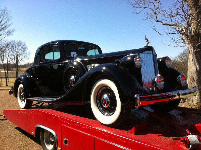 1935 Packard Super Eight Sport Coupe