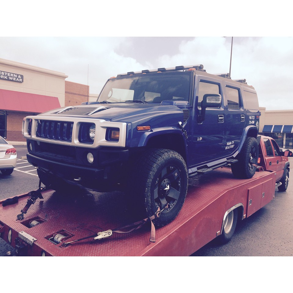 2006 Hummer H2 ( Brentwood, Tennessee to Nashville, Tennessee)