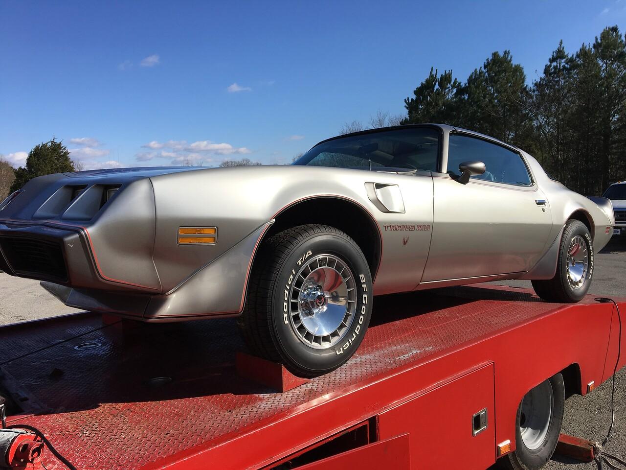 1979 Pontiac Silver Anniversary  Firebird from Nashville, Tennessee to White Bluff, Tennessee