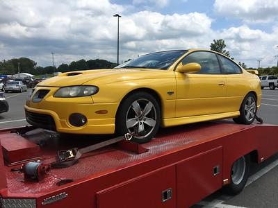 2005 Pontiac GTO (Tompkinsville, Kentucky to Nashville, Tennessee)
