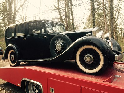 1936 Rolls Royce (Huntsville, Alabama to Nashville, Tennessee)
