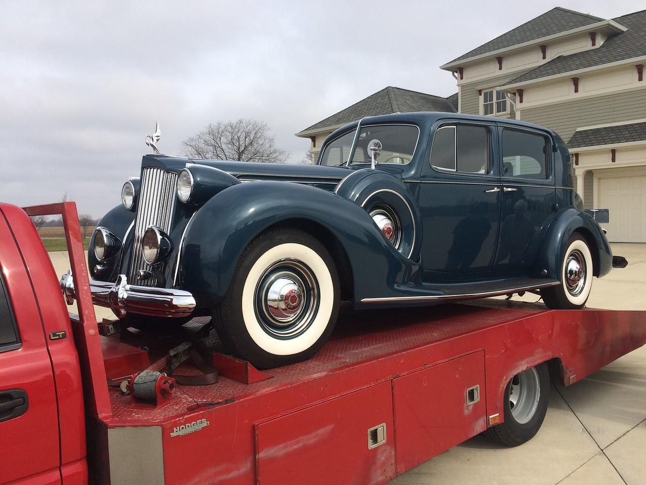 1935 Packard 12 Cylinder Club Sedan (Greensburg, Indiana to Nashville, Tennessee)