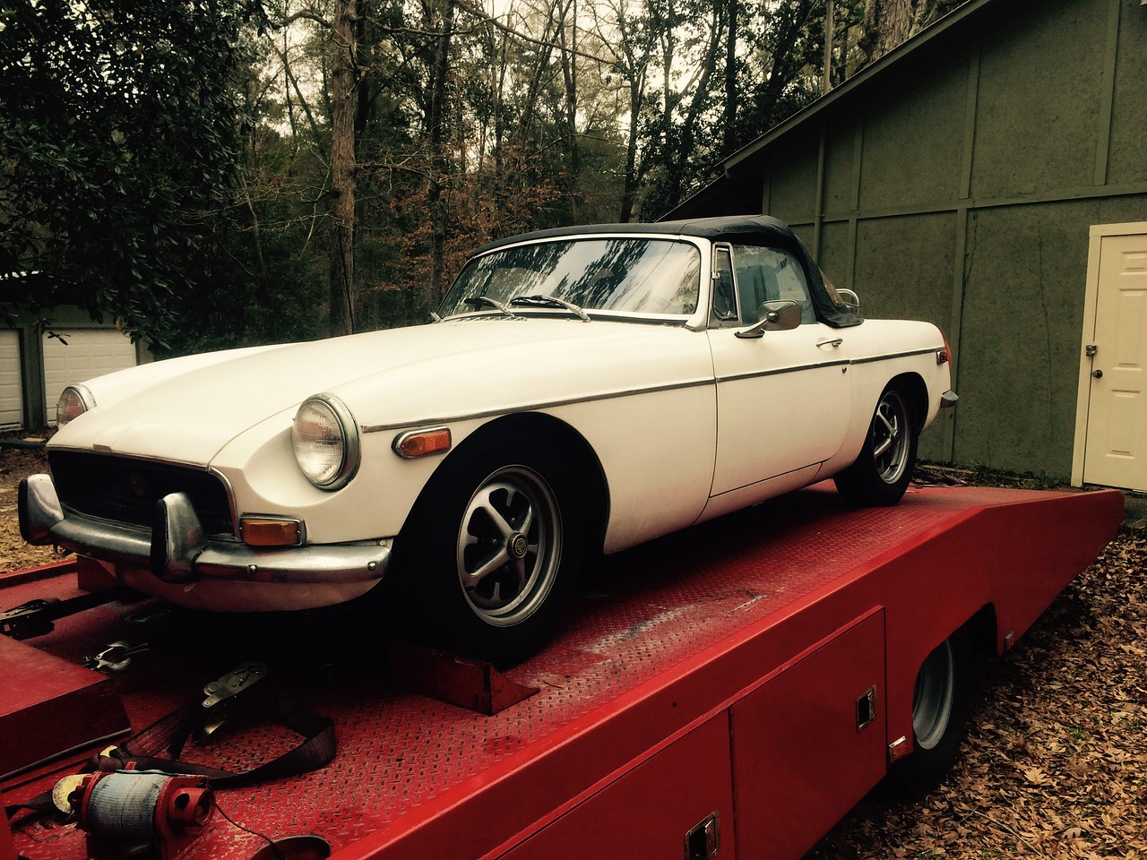1985 MGB Roadster (Punta  Gorda, Florida to Burns, Tennessee)