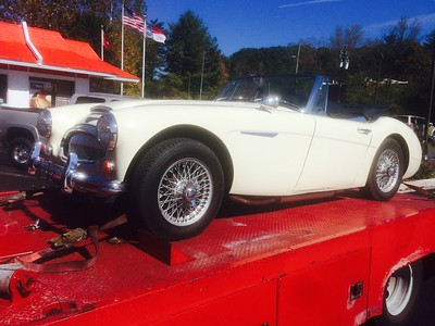 1967 Austin Healey (Black Mountain, North Carolina to Nashville,Tennessee)