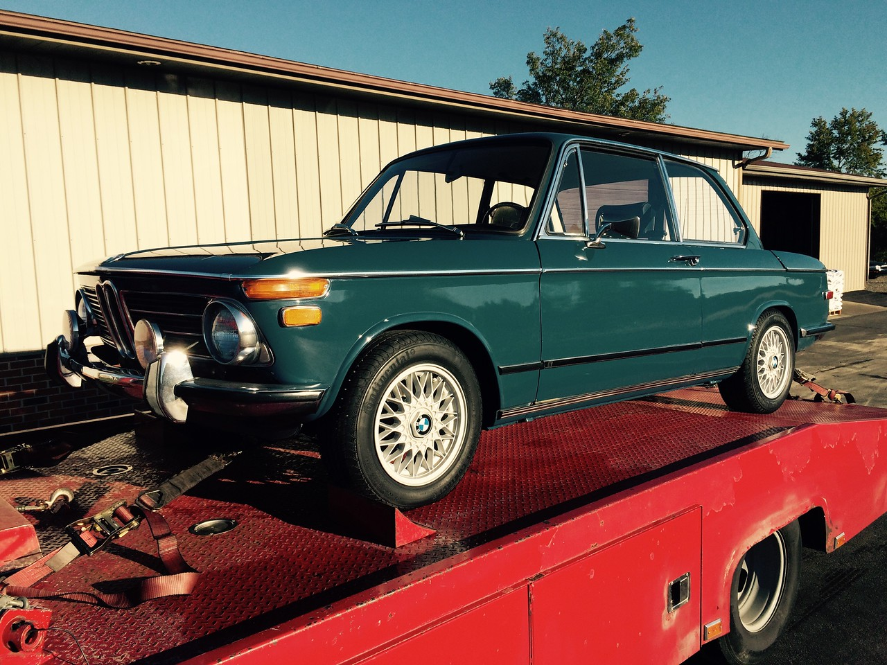 1972 BMW 2002 Coupe (Hillsdale, Michigan to Gallatin, Tennessee)