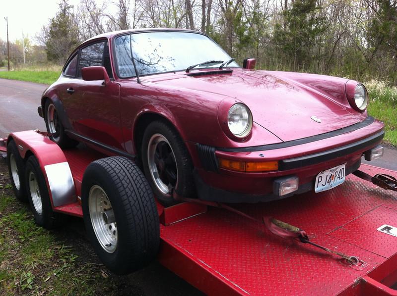1982 Porsche 911 (Saint Joe, Missouri to Nashville, Tennessee)