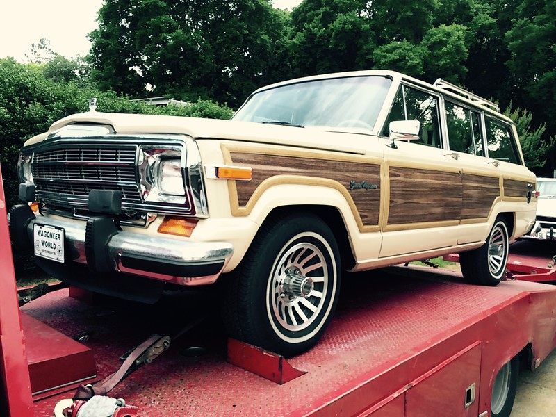 1989 Jeep Grand Wagoneer (Nashville, Tennessee to Sea Island, Georgia)