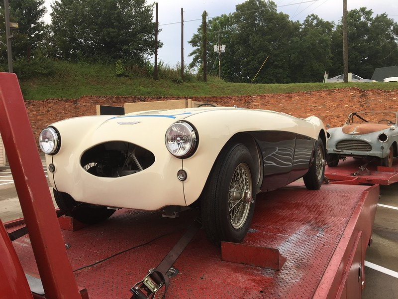 1954 Austin Healey 100S (Montgomery, Alabama to Nashville, Tennessee)
