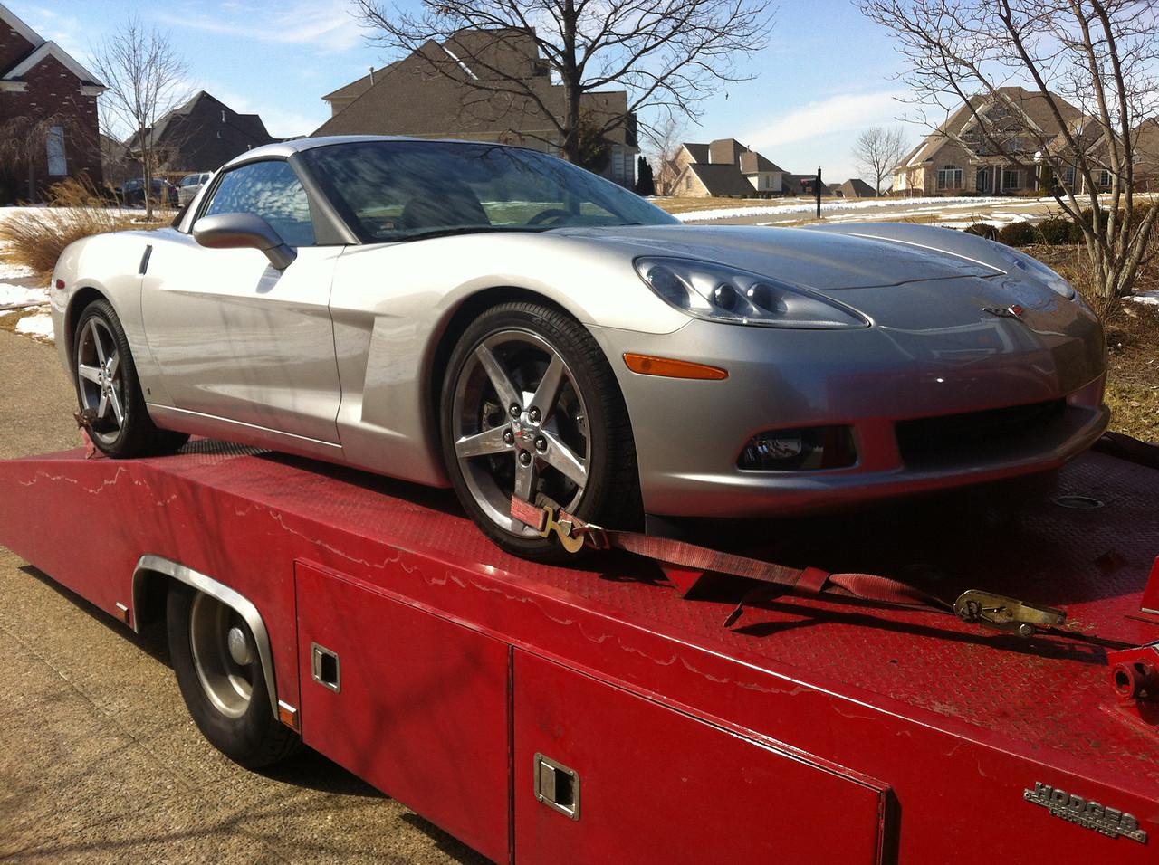 2006 Chevrolet Corvette (Prospect, Kentucky to Nashville, Tennessee)