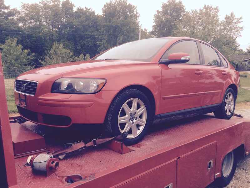 2007 Volvo S40 (Clinton, Illinois to Nashville, Tennessee)