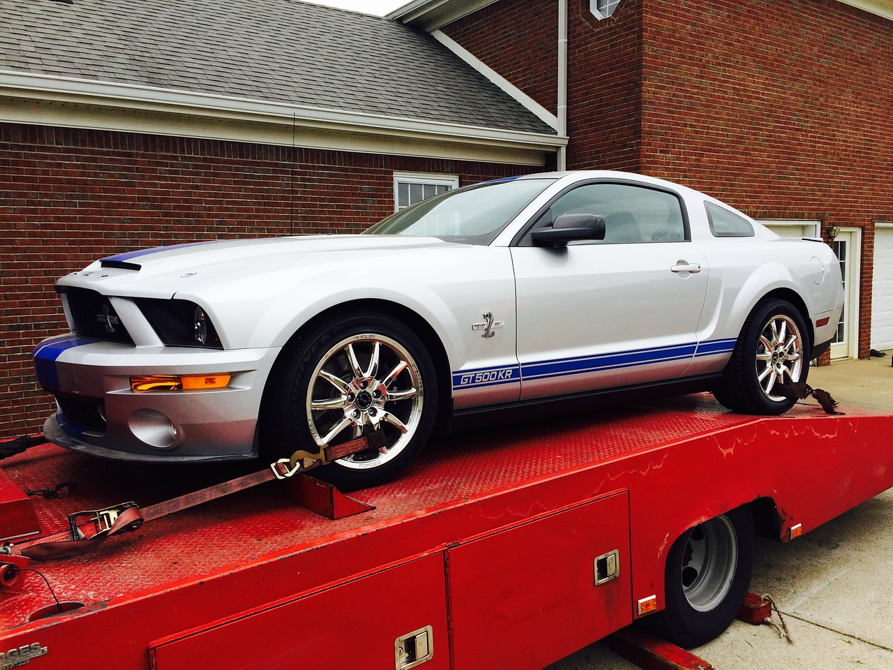 2008 Shelby GT500KR 40th Anniversary Edition (Clarksville, Tennessee to Nashville,Tennessee)