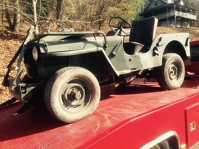 1948 Willys Jeep (Waverly,  Tennessee to Nashville, Tennessee )